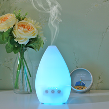 Indoor electric aromatherapy ultrasonic whisper quiet cool mist humidifier essential oil diffuser