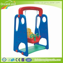 Outdoor kids mini playground with swing and slide set