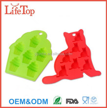 Cartoon DIY Cake Decorating Moulds Silicone Cupcake Mold