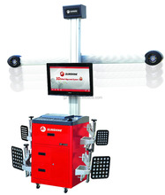 3D Four Wheel Alignment with CE