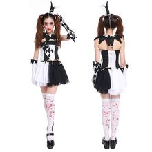 Factory Direct Sales Performance Apparel Coaplay Clown XS Sexy Halloween Costumes