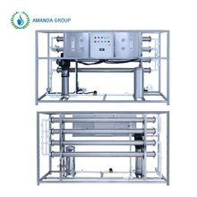 Commercial seawater osmosis river ro purification system