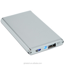 High Quality An Aluminium 2200mAh Power Bank In The Style For Smart Phone
