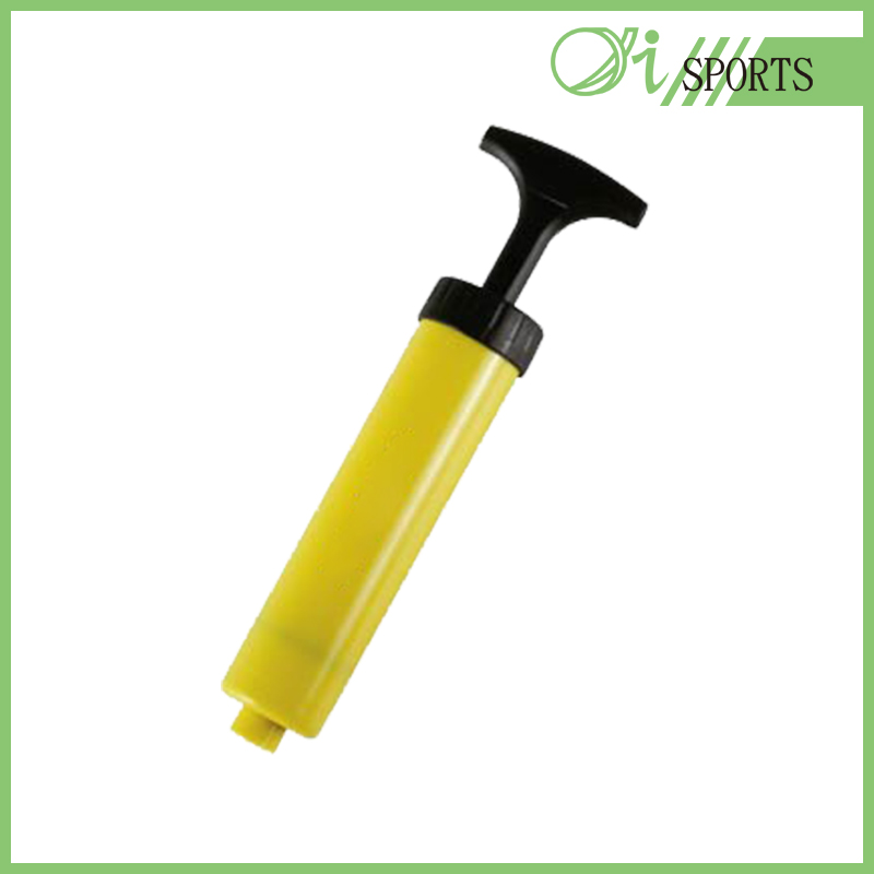Vacuum plastic hand held ball pump