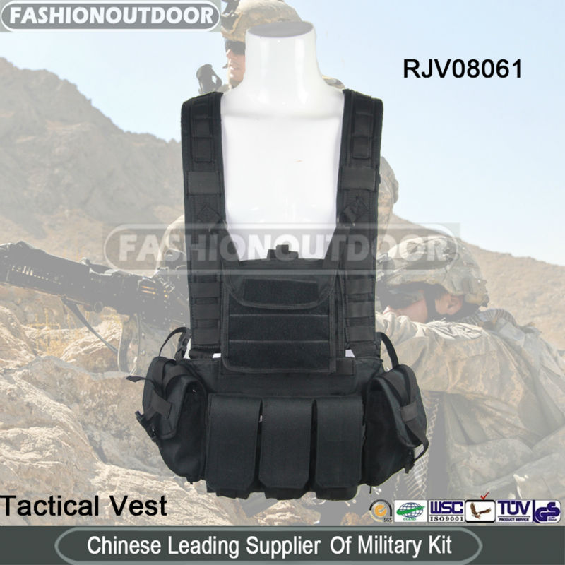 AK 47 magazine tactical vest police patrol vest military issue vest