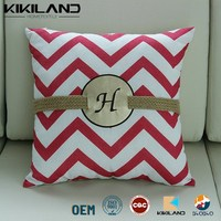 2015 new design linen cushion cover wholesale