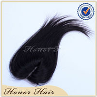 Top quality factory direct 100% unprocessed natural black cheap lace front closure piece