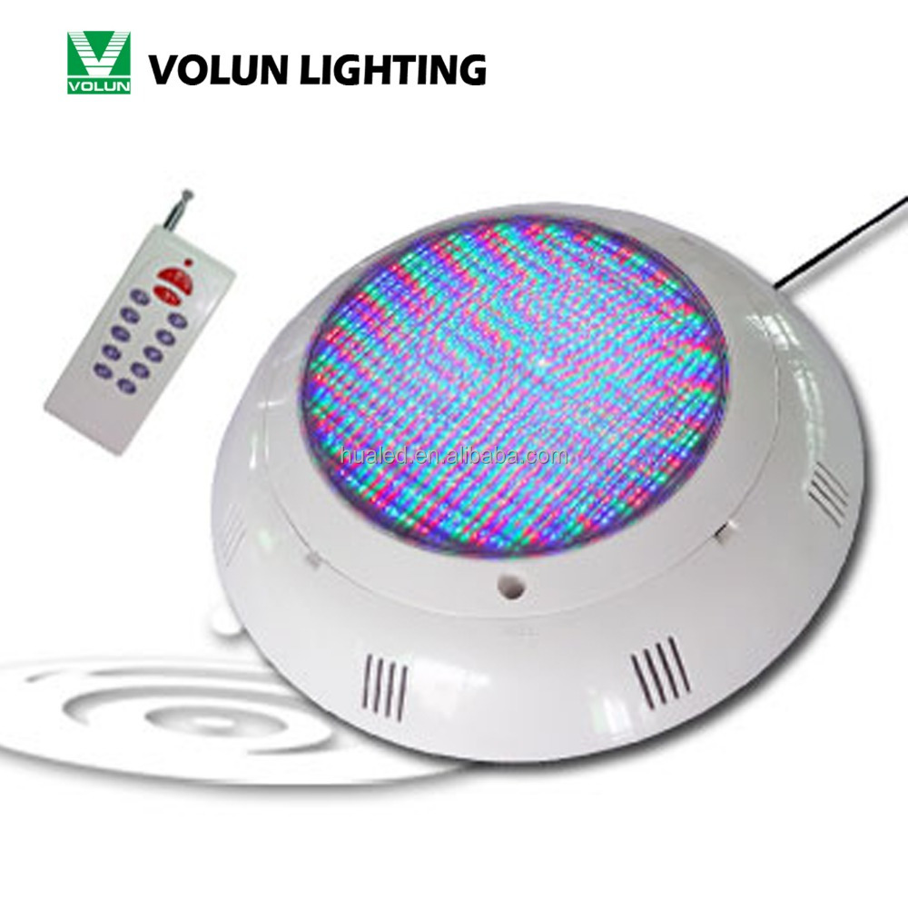 RGB remote control dmx ip68 12v led underwater low voltage pool lighting par56 15W/18W/25W