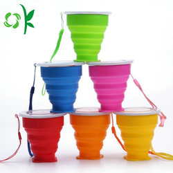 New Gadgets China Quality Assurance New Practical Silicone Folding Cup