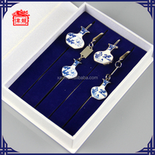 Hot Sale Store for Chinese Style Stainless Steel Bookmarks Gift Set Online QH4002