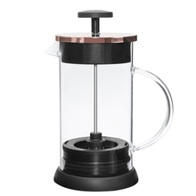 New developed Borosilicate Glass French Coffee Press and tea bottle