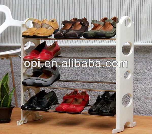 2013 Hot Sale Portable Wrought Iron Shoe Rack 122063