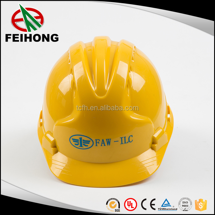 ABS shell engineering safety helmets with customized color