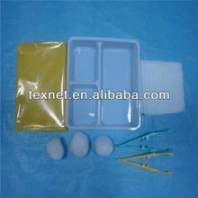 Sterile medical dressing set with CE approved