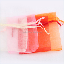 clear small candy bags packing christmas candy organza bag