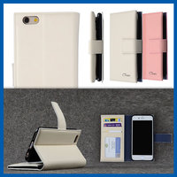C&T 2 in 1 Business Card Slots Style Universal Leather Case for iPhone 6s Plus