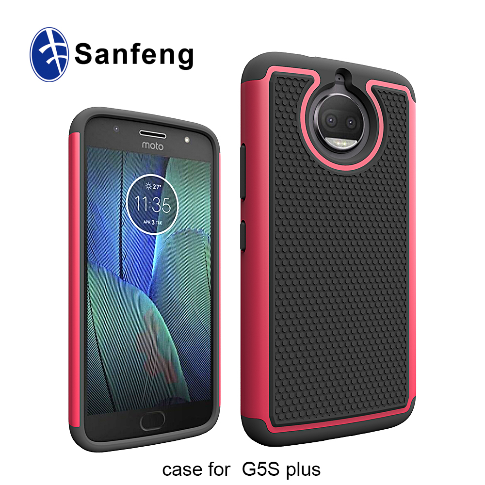 Sanfeng Factory Soft Silicone Football Lines Cellphone Cover for <strong>Motorola</strong> G5S plus Case