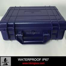 Hard ABS plastic carrying suitcase waterproof tool case