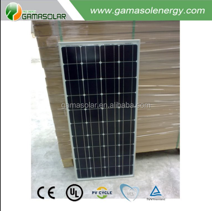 GAMA SOLAR suntech wholesale price 24v 100w 200w 500w poly solar panel in japan with high efficiency