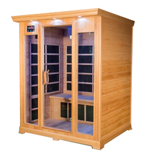 American popularity 3 person home far infrared sauna room for sale