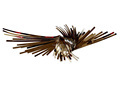 Modern metal flying bird wall hanging art sculpture