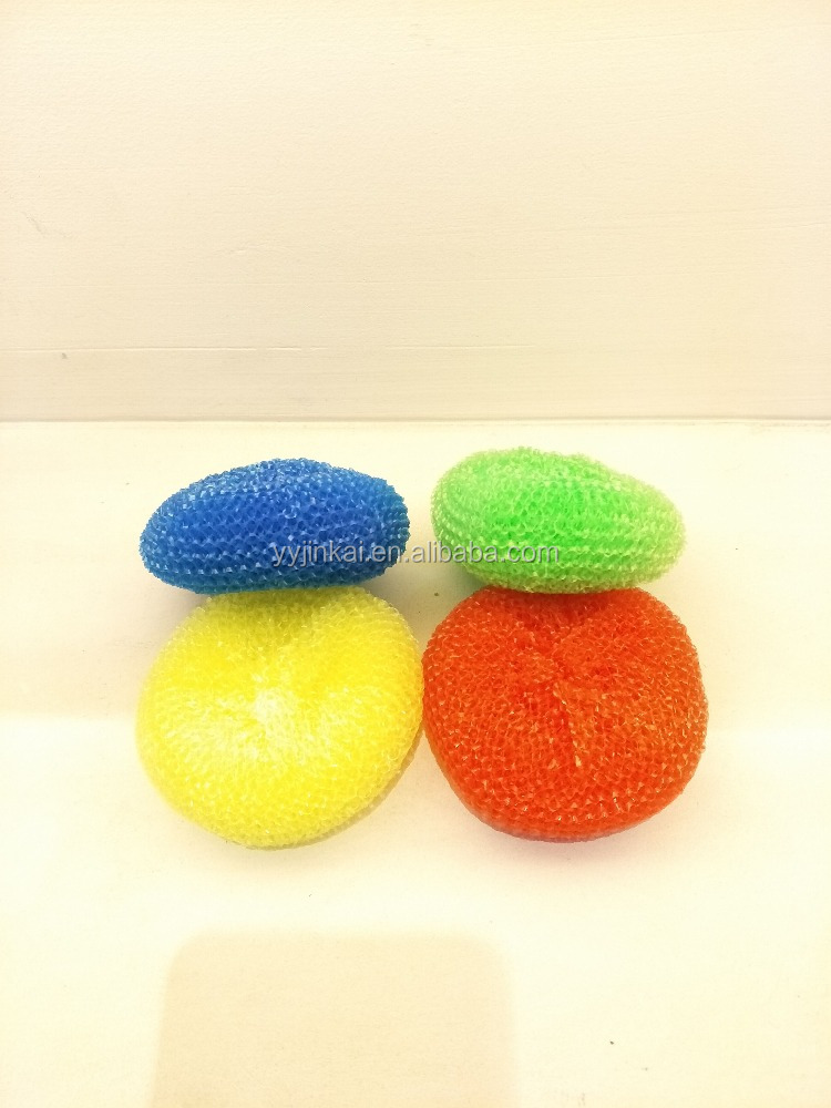 Colorful plastic mesh scrubber / Great value for cleaning