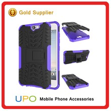 [UPO] Shockproof Heavy Duty Protective Phone Case for HTC One A9 with Kickstand Dual Layers Case