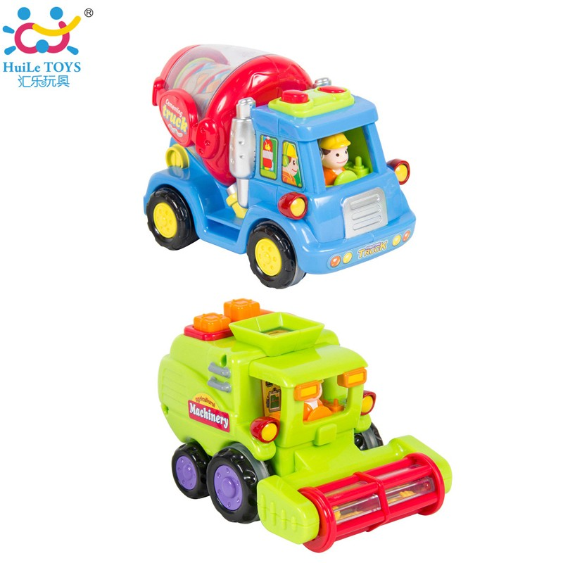 2017 Best Selling Huile Toys Friction Car Toys for Kid