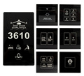 Hotel Smart Room System with full function of DND MUR Bell Light Control