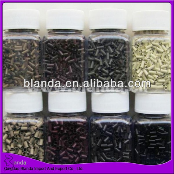 Quality micro beads/silicone micro beads for hair extensions