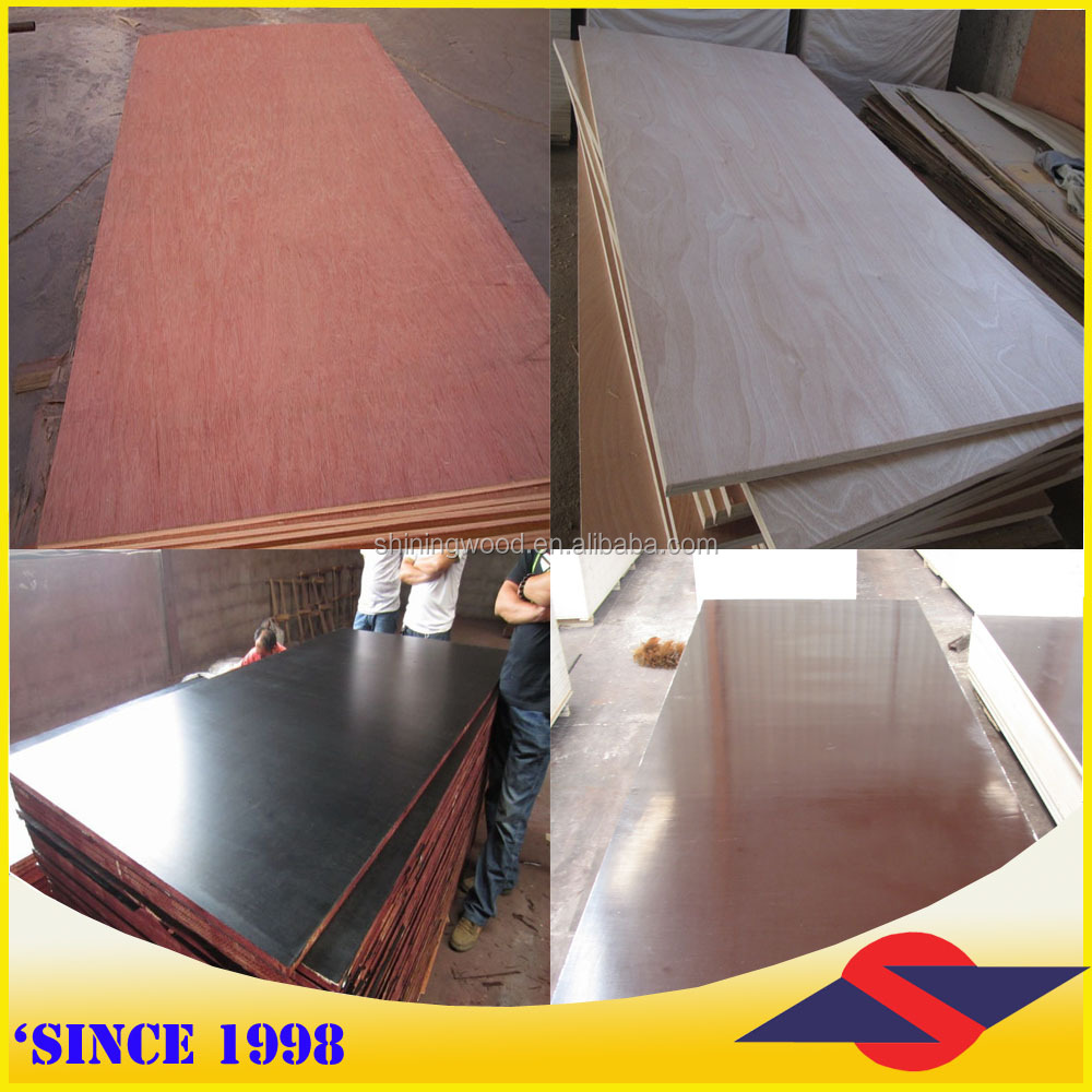 Linyi China commercial plywood, building plywood, 1220x2440mm(from Plywood manufacturer)