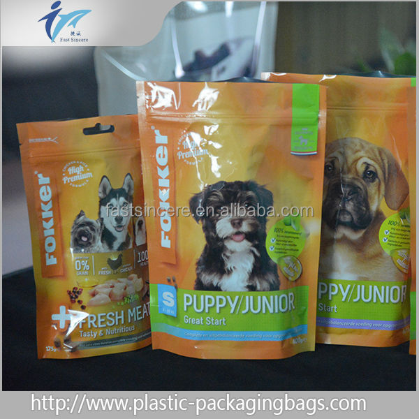 wholesale from China stand up pouch for rabbit food