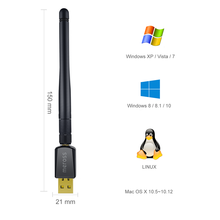 300Mbps High Gain USB WiFi Wireless Network Adapter with External Antenna
