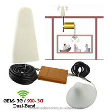 9db log periodic antenna indoor use GSM 900MHZ WCDMA 2100MHZ mobile phone dual frequency signal booster