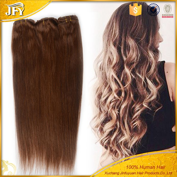 20% Discount Shake It As Your Own White Clip In Hair Extension Wet And Wavy Human Clips In Hair Extension