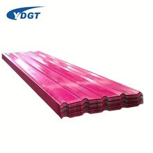 China Ppgi Color Coated Corrugated Aluminium Steel Roofing Sheet