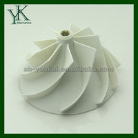 High precision plastic impeller 3d scan service injected molding manufacturer