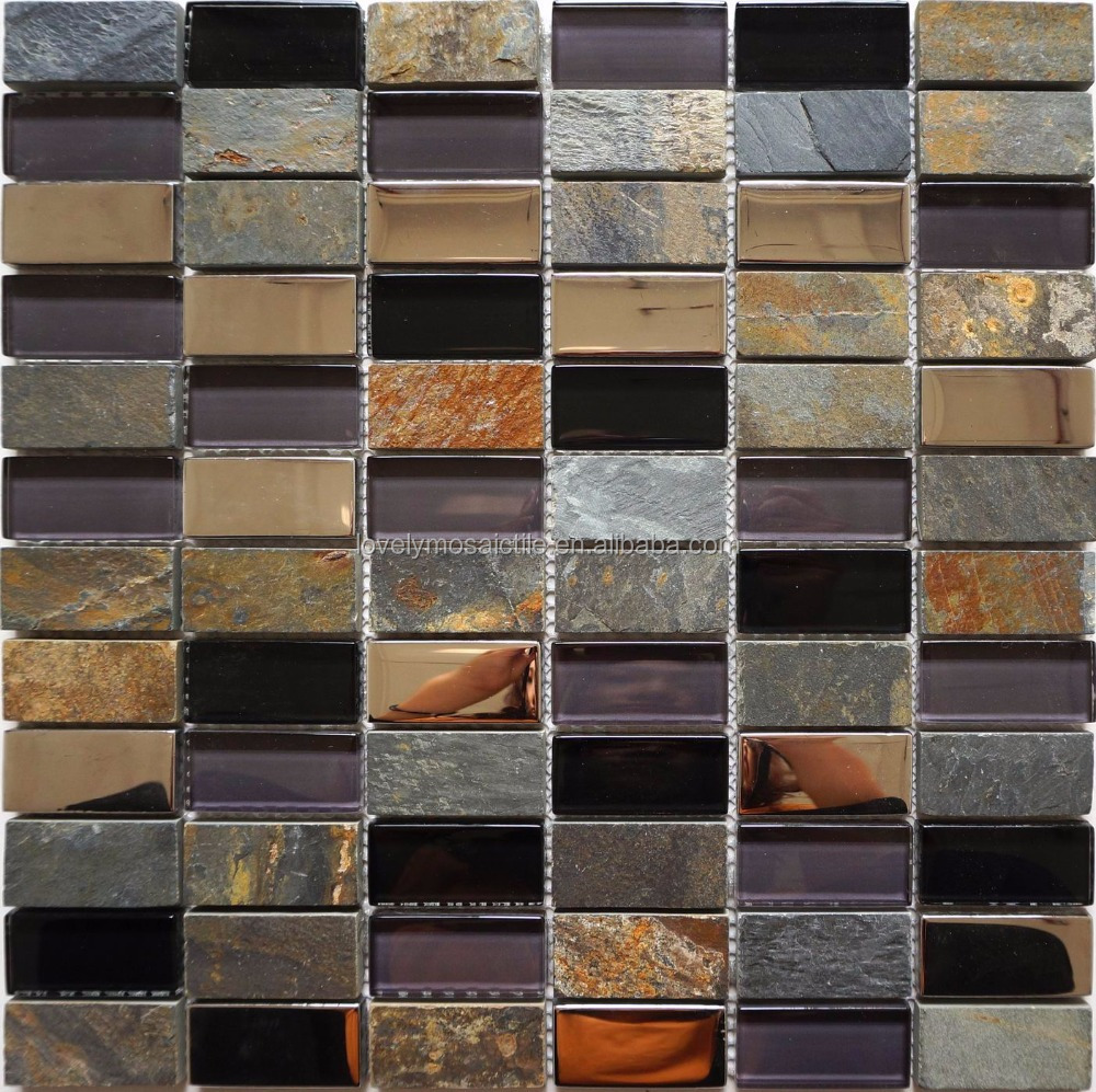 glass stone mosaic tile for bathroom wall or cookhouse wall