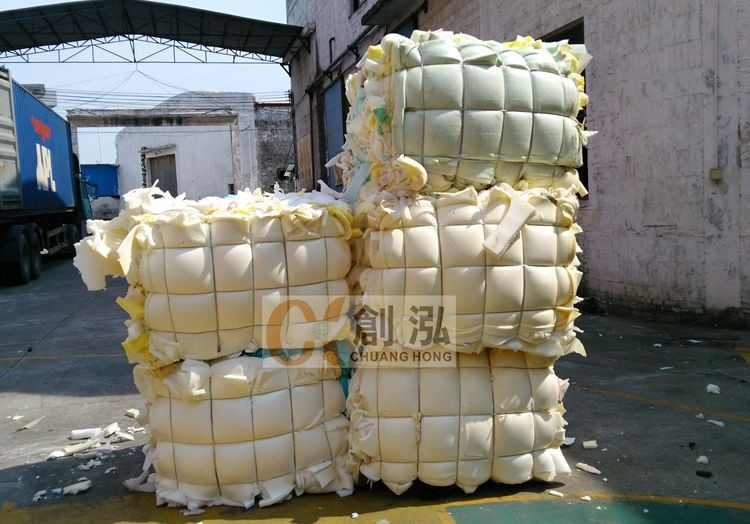 Promotion PU Filler cheapest colorful expandable foam scrap packaging