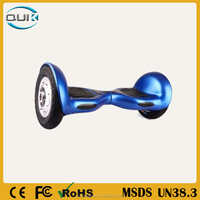 2015 Most fashionable 10inch high quality smart electric balance scooter