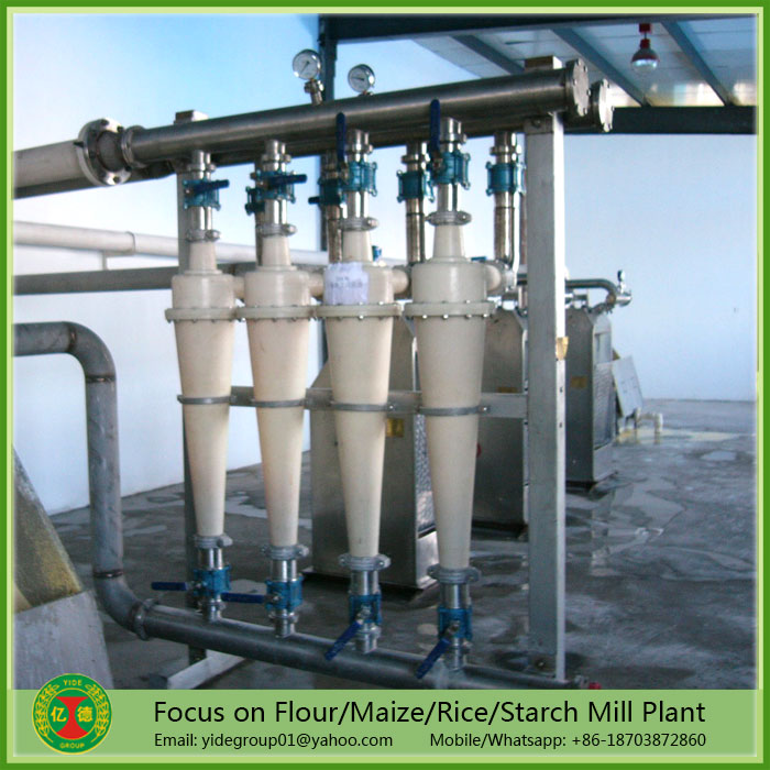 High efficiency Turnkey project corn starch milling flour plant