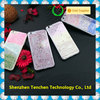 Unique design mobile phone cover anti gravity glitter case for Iphone7 hybrid sticky case