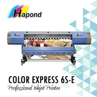 COLOR EXPRESS 6S-E epson dx5 printhead 1.8m eco solvent printer