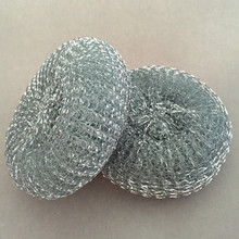 Galvanized Scourer Stainless Steel wire mesh cleaning ball