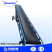 50kg bags Truck Loading mobile rubber belt Conveyor/adjustable height portable conveyor equipment