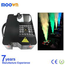 Professional Dj Effect 1500W DMX LED Up Vertical Fog Machine For Stage Equipment