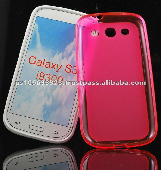 clear pudding case for Samsung galaxy s3 I9300