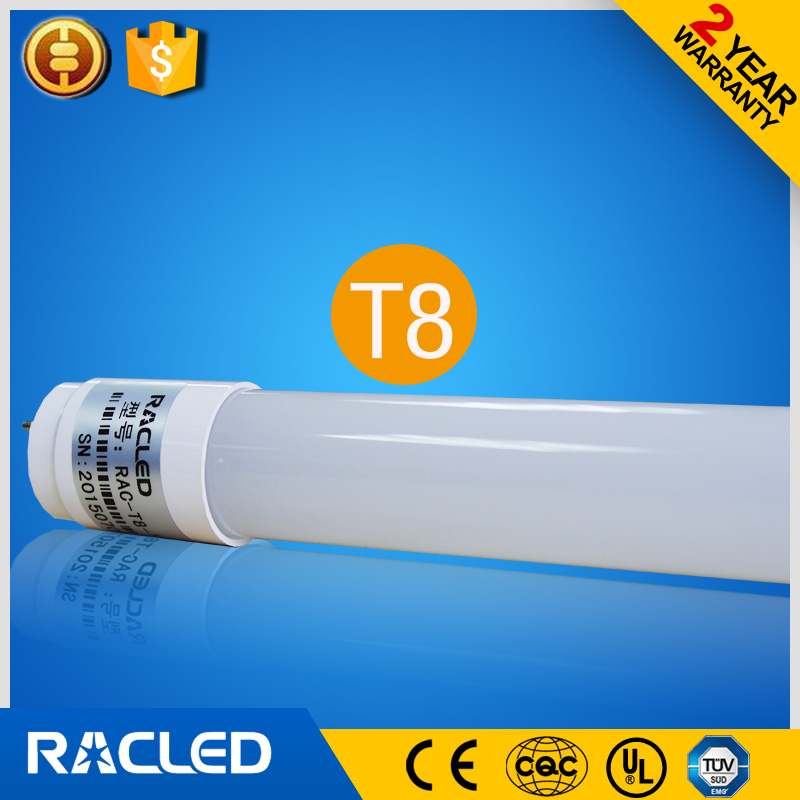 Super quality 1200mm T8 led tubes 18W CRI>80 100lm/<strong>w</strong> smd2835 led t8 glass tube light