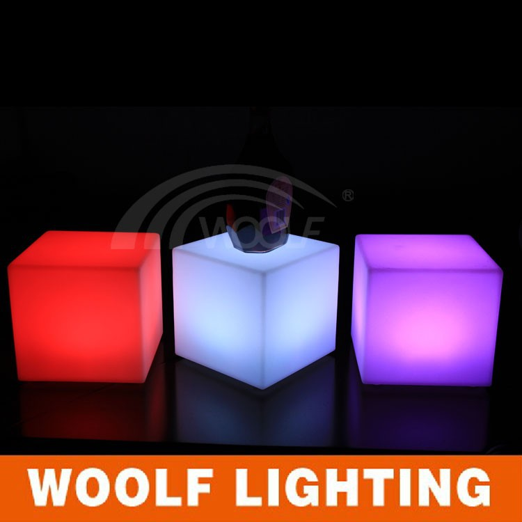 3D lighting RGB LED cube plastic light cube light magic cube