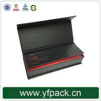 Factory Direct Sale Customized Flip Top Cover Cardboard Box With Magnetic Catch